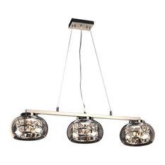 PLC Lighting 6-Light Pendant, Rokka Collection, 92953PC