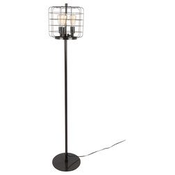 Industrial Floor Lamps by HedgeApple