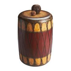 butler specialty company butler navajo leather drum table side tables and end tables