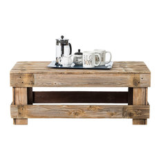 Del Hutson Designs   Barnwood Coffee Table, Barnwood   Coffee Tables