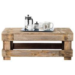 Farmhouse Coffee Tables by Del Hutson Designs