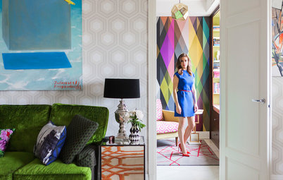 Moscow Houzz Tour: Palm Springs Style Finds a New Home in Russia