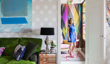 В гостях: Яркая квартира дизайнера Марины Жуковой