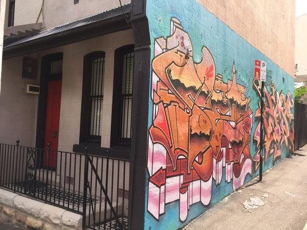 Australian Homes Embracing Street Art