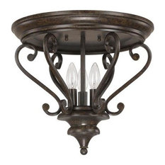 Capital Lighting Maxwell 3-LT Ceiling 4533CB - Chesterfield Brown
