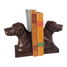 English Pointer Head Bookends