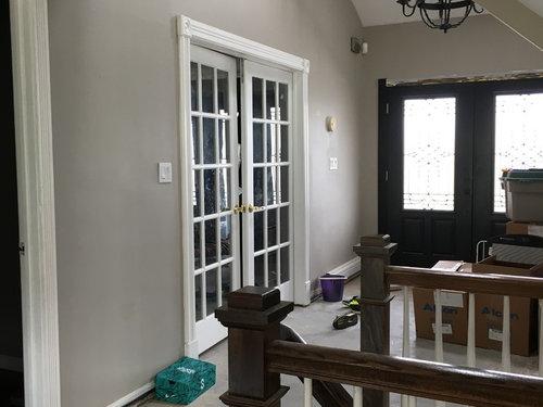 Doors In Formal Dining Room