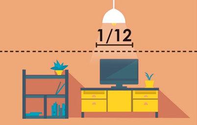 Эргономика: Как правильно вешать светильники