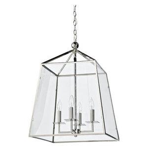 Cachet Lantern - Polished Nickel