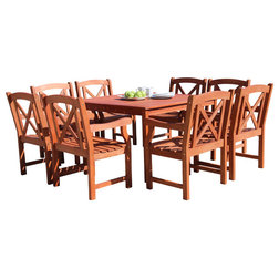 Trend Rustic Outdoor Dining Sets by Vifah