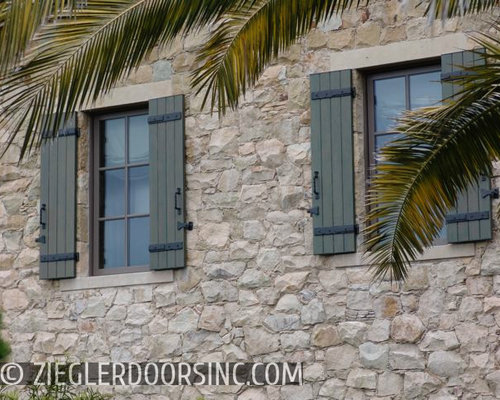 Exterior Home Shutters Los Angeles Custom Crafted Architectural