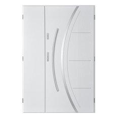 Phoenix Uno Double Front Door, White, 130 cm