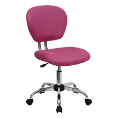pink office chairs | houzz