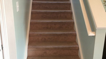 Staircase and flooring project - Cane Bay Plantation