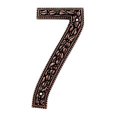 Best mediterranean house numbers houzz for Mediterranean house numbers