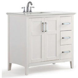 Transitional Bathroom Vanities And Sink Consoles by Homesquare