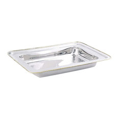 Old Dutch Rectangular Stainless Steel Food Pan for No. 842 8 qt.