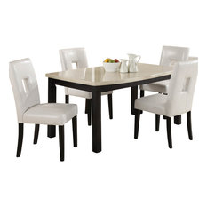 faux stone top dining table. homelegancela, inc - homelegance archstone 60 inch dining table with faux marble top stone e