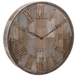 Farmhouse Wall Clocks by Benzara Inc