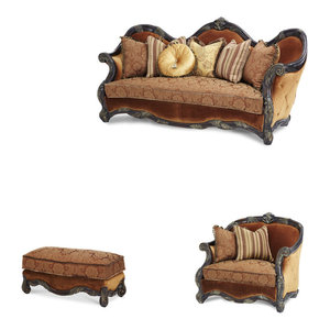 Essex Manor Living Room Set  3-Piece Set  Michael Amini