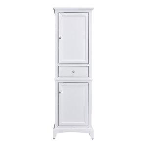 "Eviva Elite Stamford 24"" Side Cabinet, White"