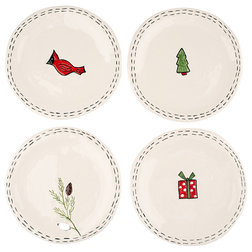 Contemporary Holiday Dinnerware by Glory Haus