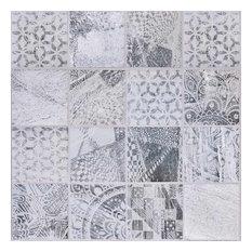 10x10cm Vesta mix pattern tile set