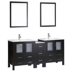 New Contemporary Bathroom Vanities And Sink Consoles by Bosconi