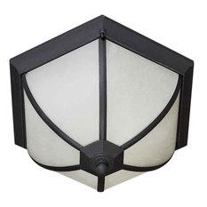 Forte Lighting 17007-02-04 2LT FL Cast Al Outdoor Flush