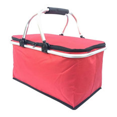 Collapsible Picnic Basket Insulated Picnic Basket Takeaway Box