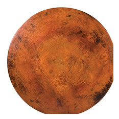 """Round Copper Table Tops, 54""""'x18"""""""