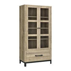 a design studio ivybrook storage cabinet natural storage cabinets - Industrial Storage Cabinets