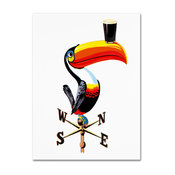 "Guinness Brewery 'Guinness V' Canvas Art, 18""x24"""
