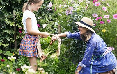 自然なスタイルが魅力。どの季節に訪れても美しい北欧の庭