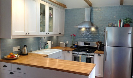 The 100-Square-Foot Kitchen: A Former Bedroom Gets Cooking