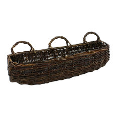 Willow Rectangle Large Wall Basket