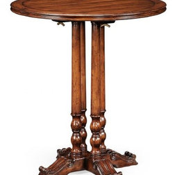 Traditional Indoor Pub And Bistro Tables by Jonathan Charles Fine Furniture
