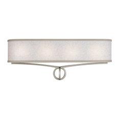 Feiss   Monte Carlo   4  Light Vanity, Dark Silver   Bathroom Vanity  Lighting