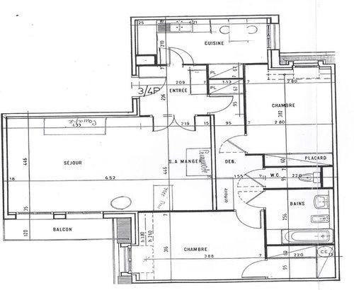 est ce une bonne id e de d placer notre cuisine actuelle. Black Bedroom Furniture Sets. Home Design Ideas