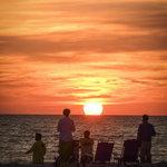 "Pi Photography and Fine Art - Summer Spectators Coastal Sunset Landscape Photo Wall Art Print - Decor, 16"" X 2 - Summer Spectators Coastal Sunset Landscape Photograph Loose (Unframed) Wall Art Print - Wall Decor"
