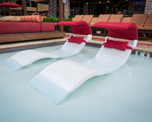 Ledge Lounger Shade   Outdoor Chaise Lounges