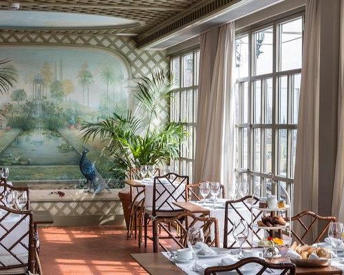 Murales pintados en cocinas y comedores