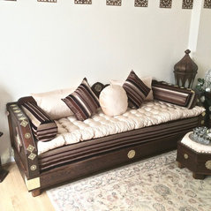 The Al Kenz Moroccan Sofa Couch from the MoroJestic.