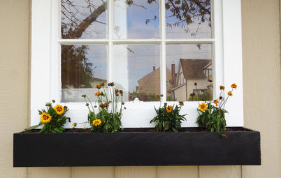 Build a Modern Window Planter Box