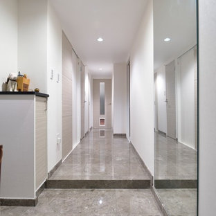 Houzz 50 Best Marble Floor Hallway Pictures Marble Floor