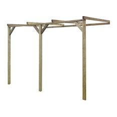 vidaXL Wooden Lean-To Pergola, 2x3x2.2 m, 2x3x2.2 M