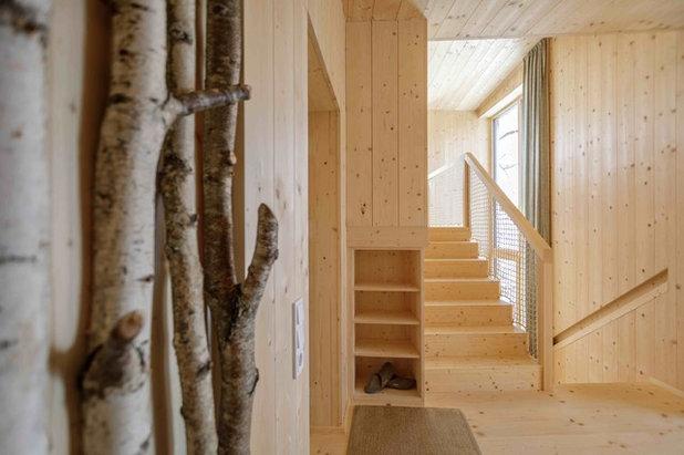 Skandinavisch  by Architekturbüro Gappmaier
