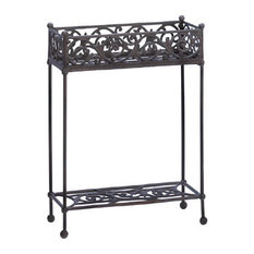 Cast Iron 2-Tier Plant Stand