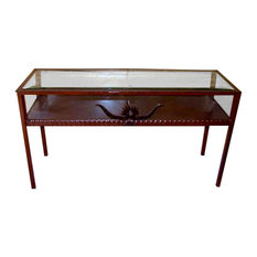 Exceptional Frontier Ironworks   Western Display Table   Console Tables