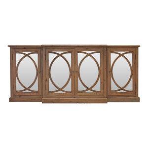 Mirror Overlay Cabinet, 1 Per Box